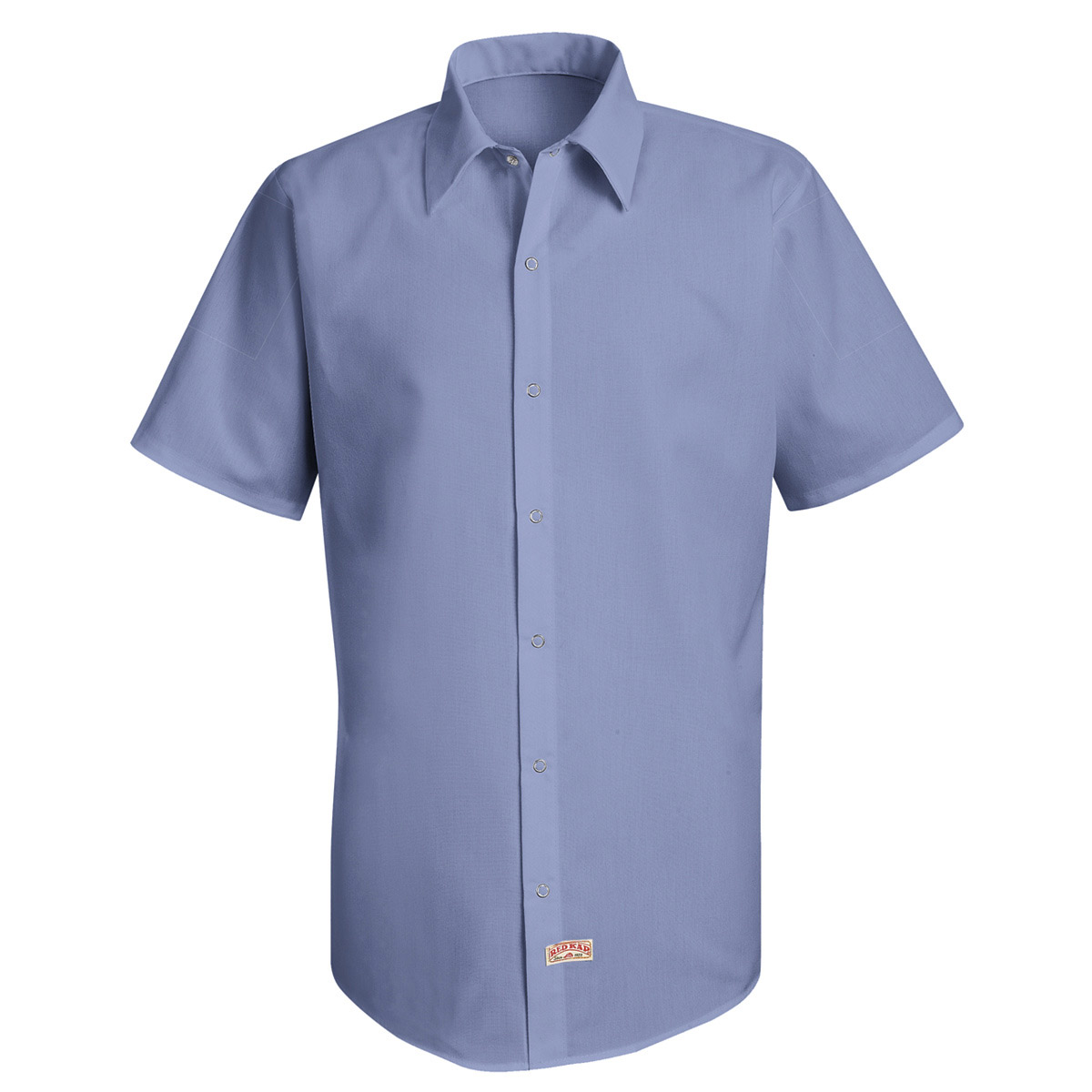 Men's Specialized Pocketless Polyester Work Shirt