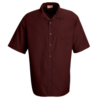 Microfiber Convertible Collar Shirt
