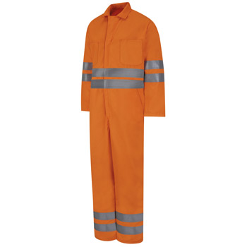 Hi-Visibility Zip-Front Coverall
