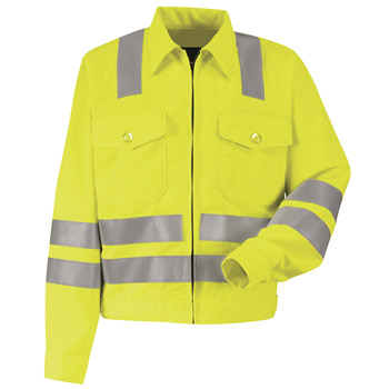 Hi-Visibility Ike Jacket - Class 3 Level 2