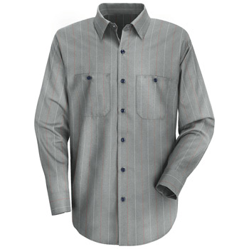 Red Kap® Men?s Long-Sleeve Work Shirt
