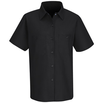 Red Kap® Women's Short-Sleeve Work Shirt